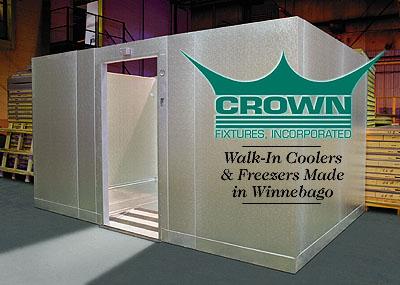 Walk-In Coolers & Freezers Made In Winnebago