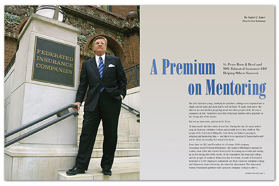 A Premium On Mentoring