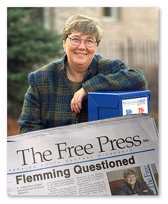 Flemming Questioned