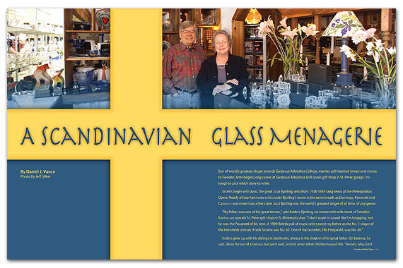 A Scandinavian Glass Menargerie