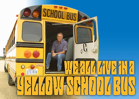 We All Live In A Yellow School Bus