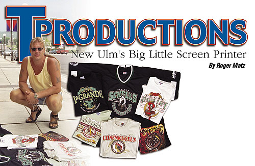 New Ulm\'s Big Little Screen Printer